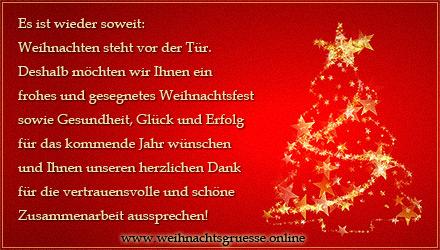 weihnachtsgedichte firma